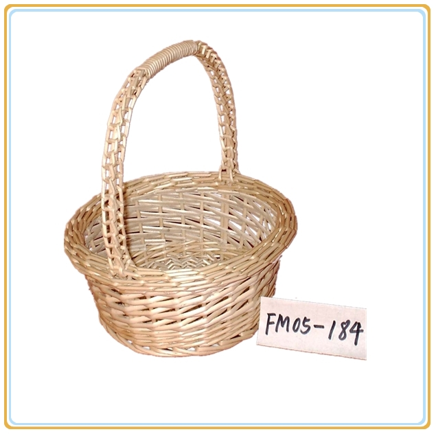 oval basket with handles